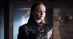 Sophie Turner como Sansa Stark en Game of Thrones 8x02