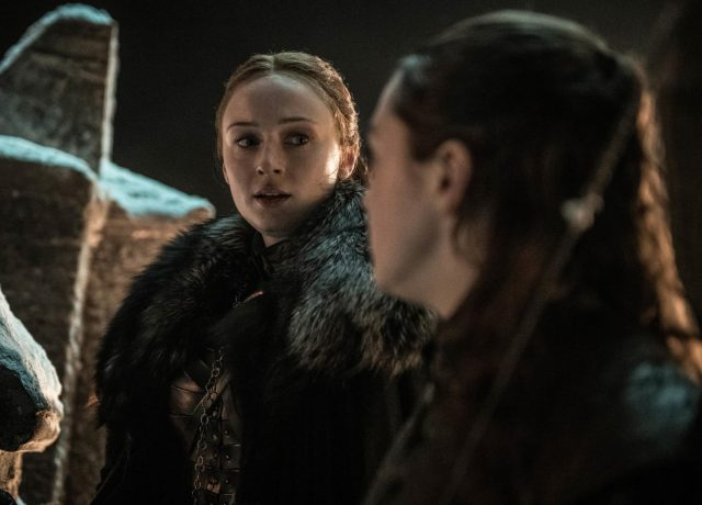 Game of Thrones 8x03 - Sansa y Arya