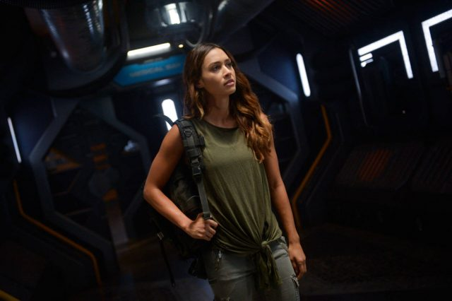 Raven en The 100 Temporada 6 Episodio 1 Sanctum