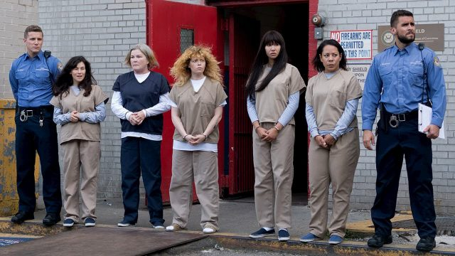 Las reclusas de Litchfield en la temporada 7 de Orange Is The New Black