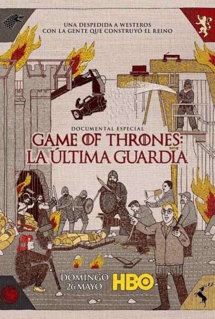 Poster del documental de Game of Thrones La {Ultima Guardia (The Last Watch)