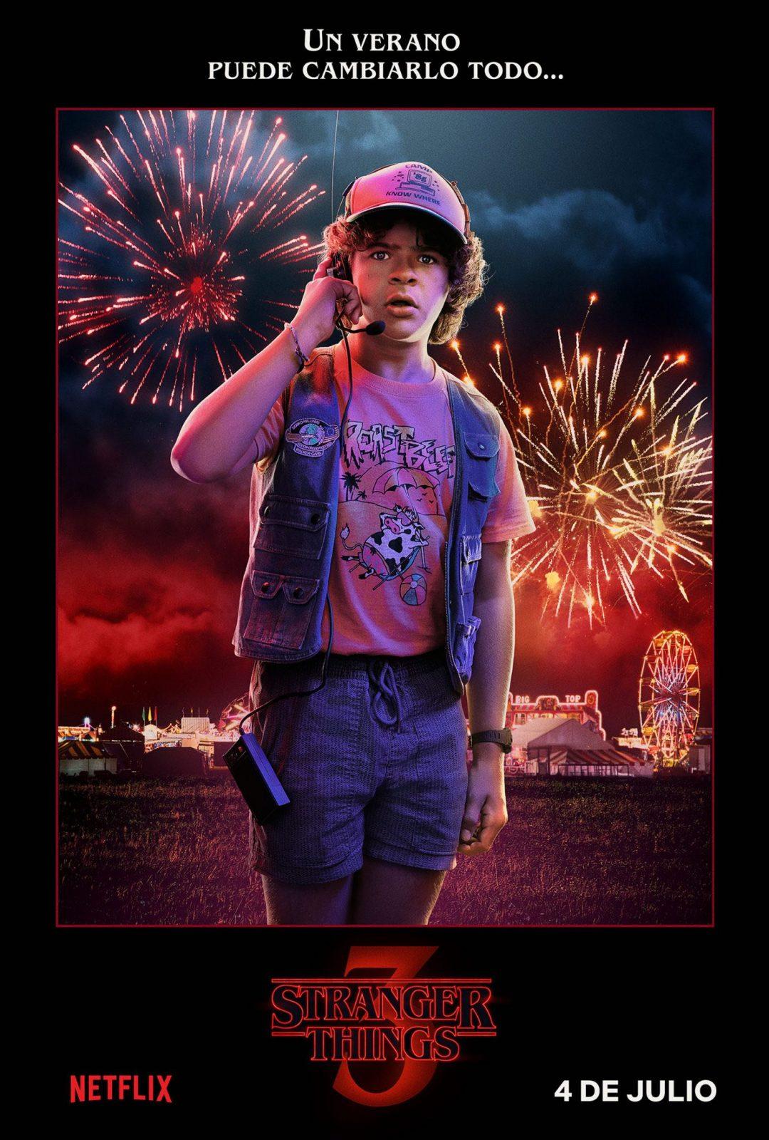 Gaten Matarazzo como Dustin Henderson