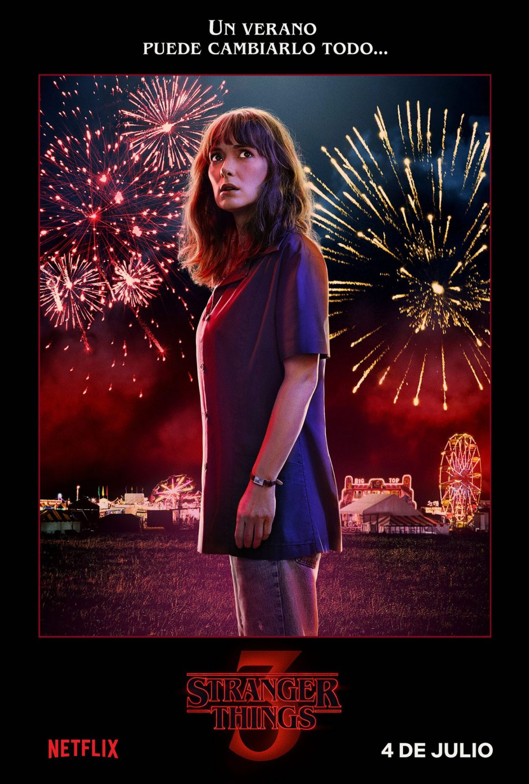 Winona Ryder como Joyce Byers