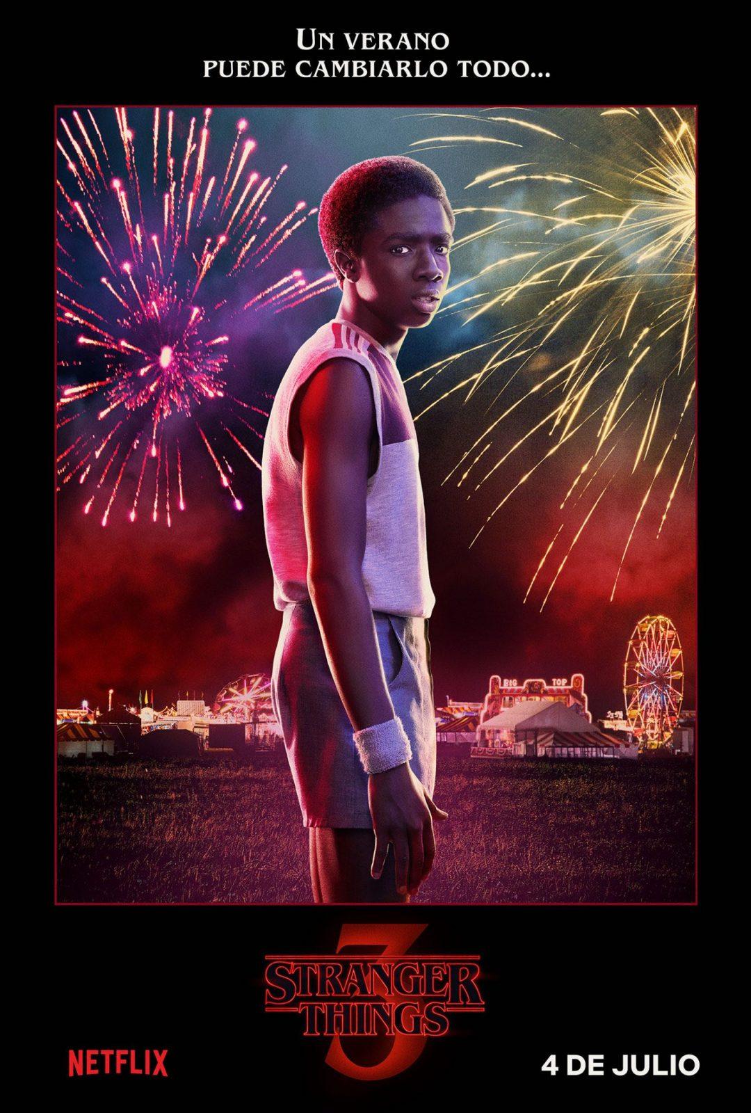 Caleb McLaughlin como Lucas Sinclair