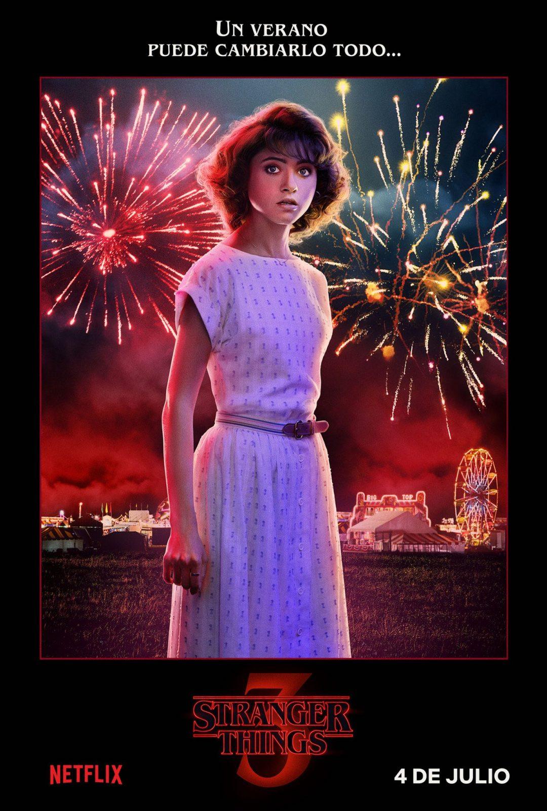 Natalia Dyer como Nancy Wheeler