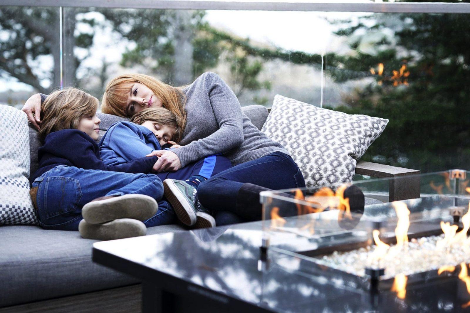 Nicole Kidman, Nicholas Crovetti y Cameron Crovetti en Big Little Lies 2x02