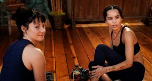 Jane (Shailene Woodley) y Bonnie (Zoë Kravitz) en Big Little Lies 2