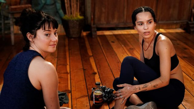 Jane (Shailene Woodley) y Bonnie (Zoë Kravitz) en Big Little Lies 2