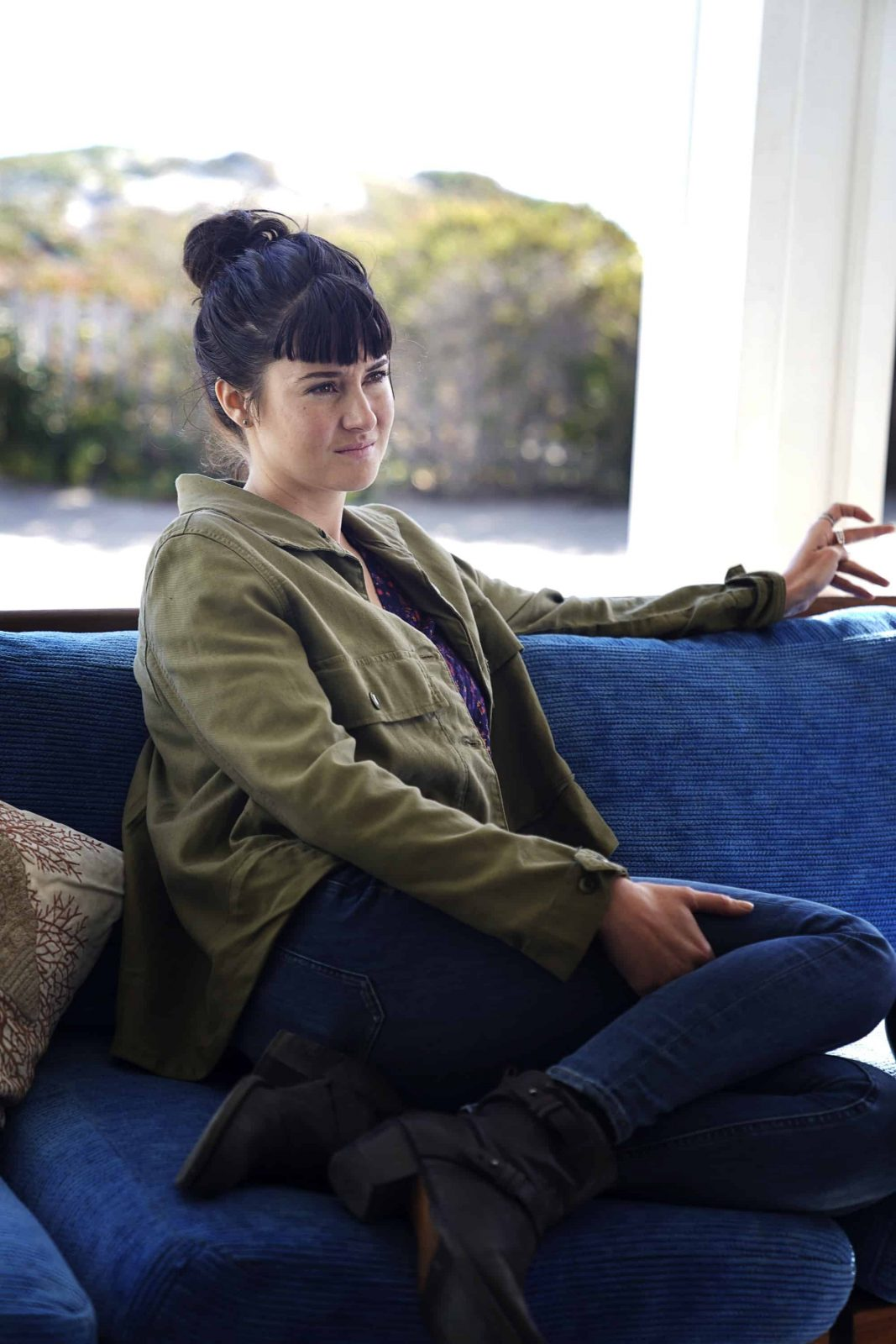 Shailene Woodley como Jane en Big Little Lies S02E04 She Knows