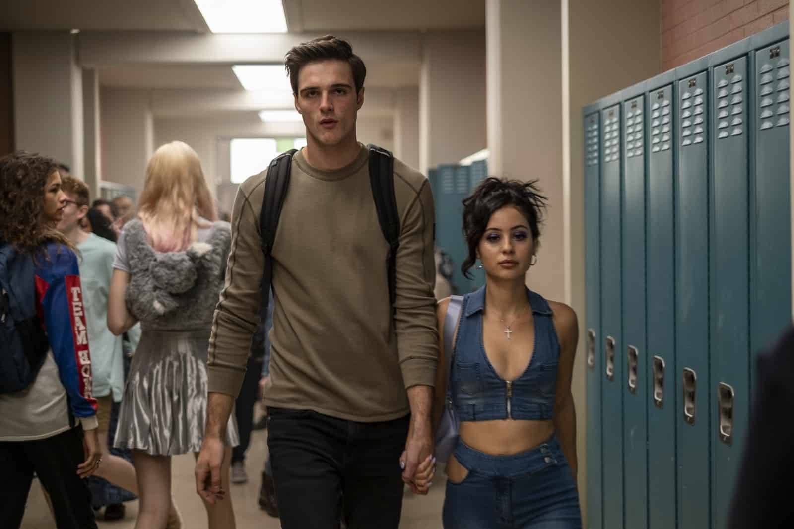 Nate (Jacob Elordi) y Maddy (Alexa Demie) en Euphoria T1 Capitulo 3 Made You Look