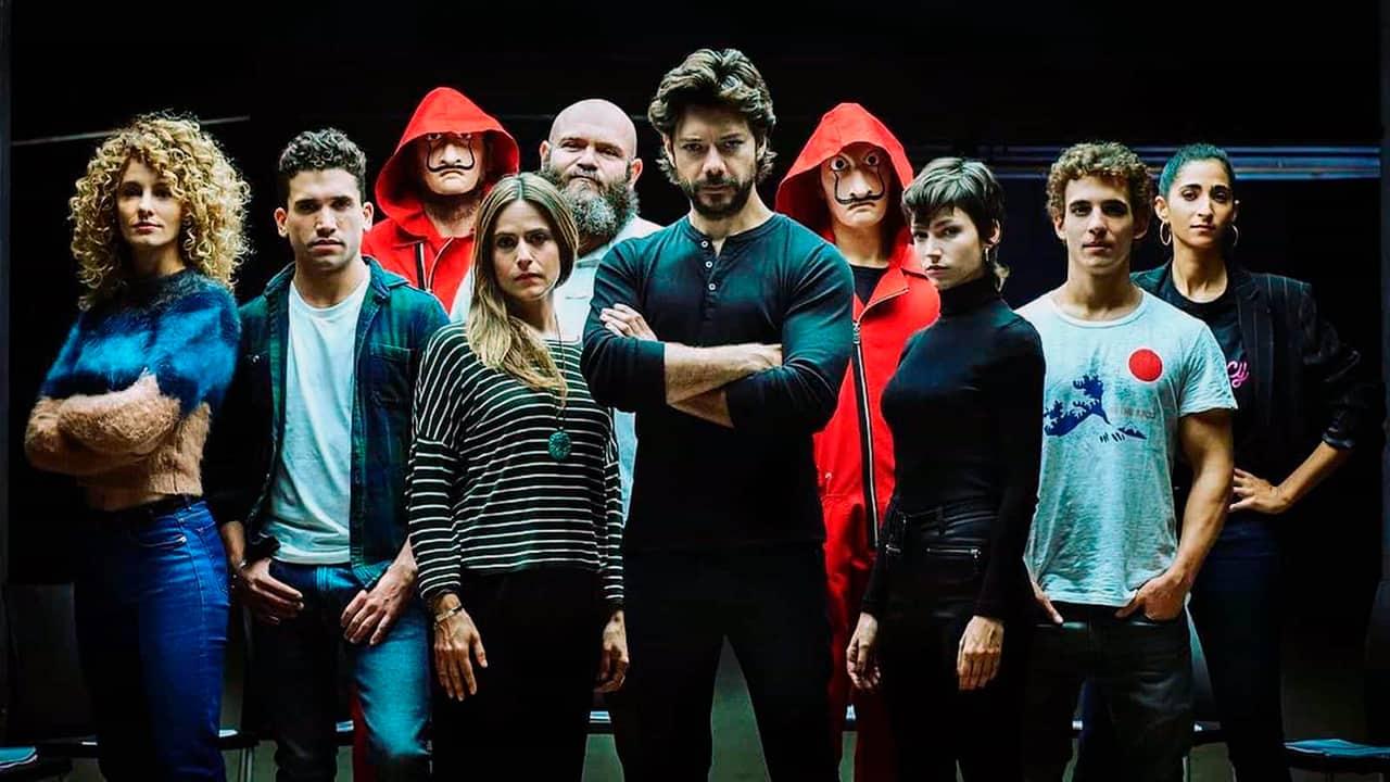 La Casa de Papel tendrá cuarta temporada, y ya comenzó el rodaje