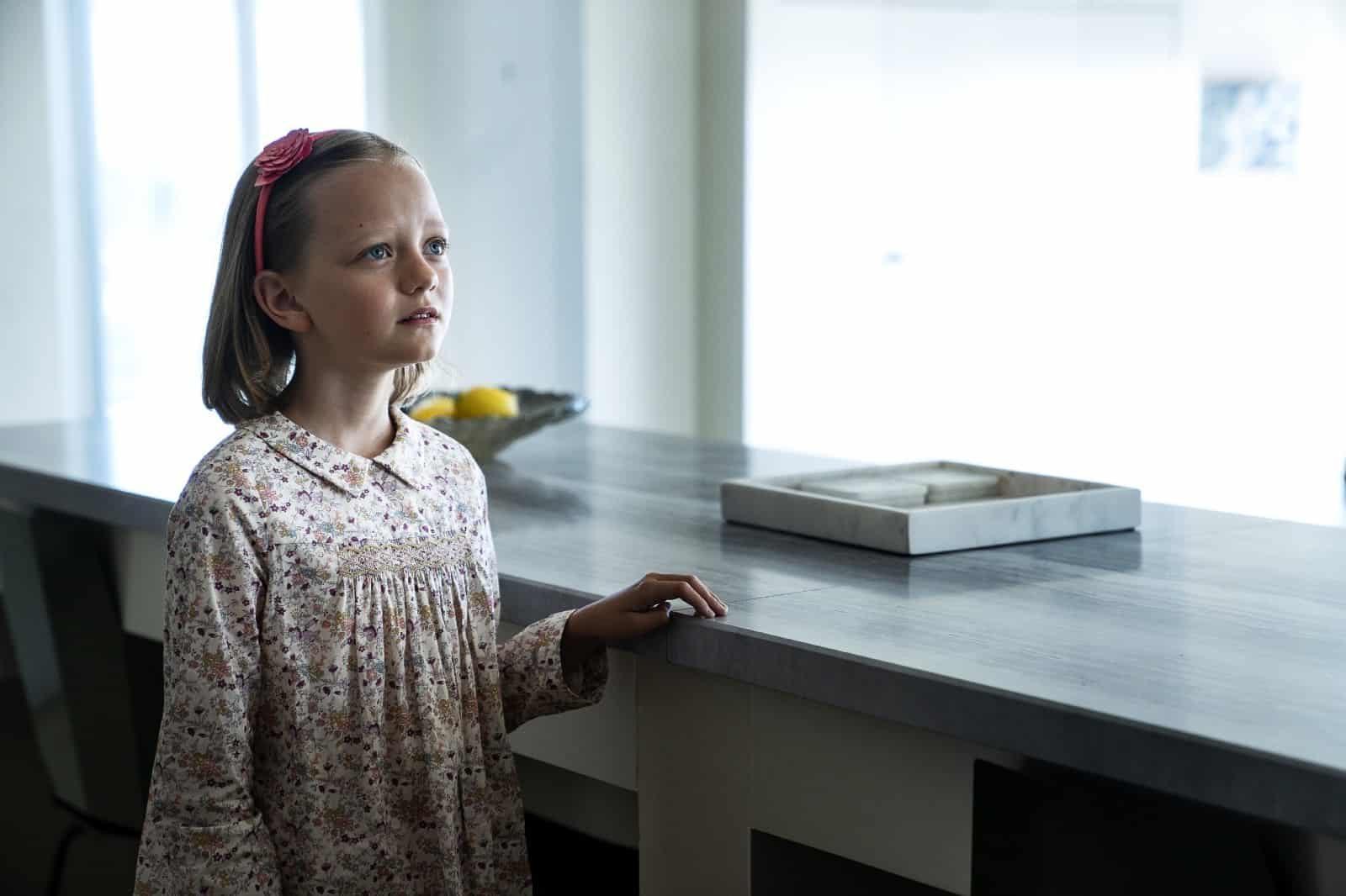 Ivy George como Amabella Klein en BLL S02E05 Kill Me