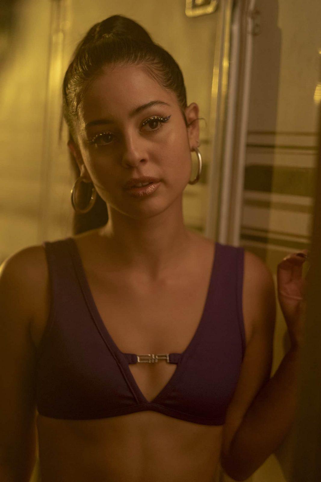 Alexa Demie como Maddy en Euphoria 1x04