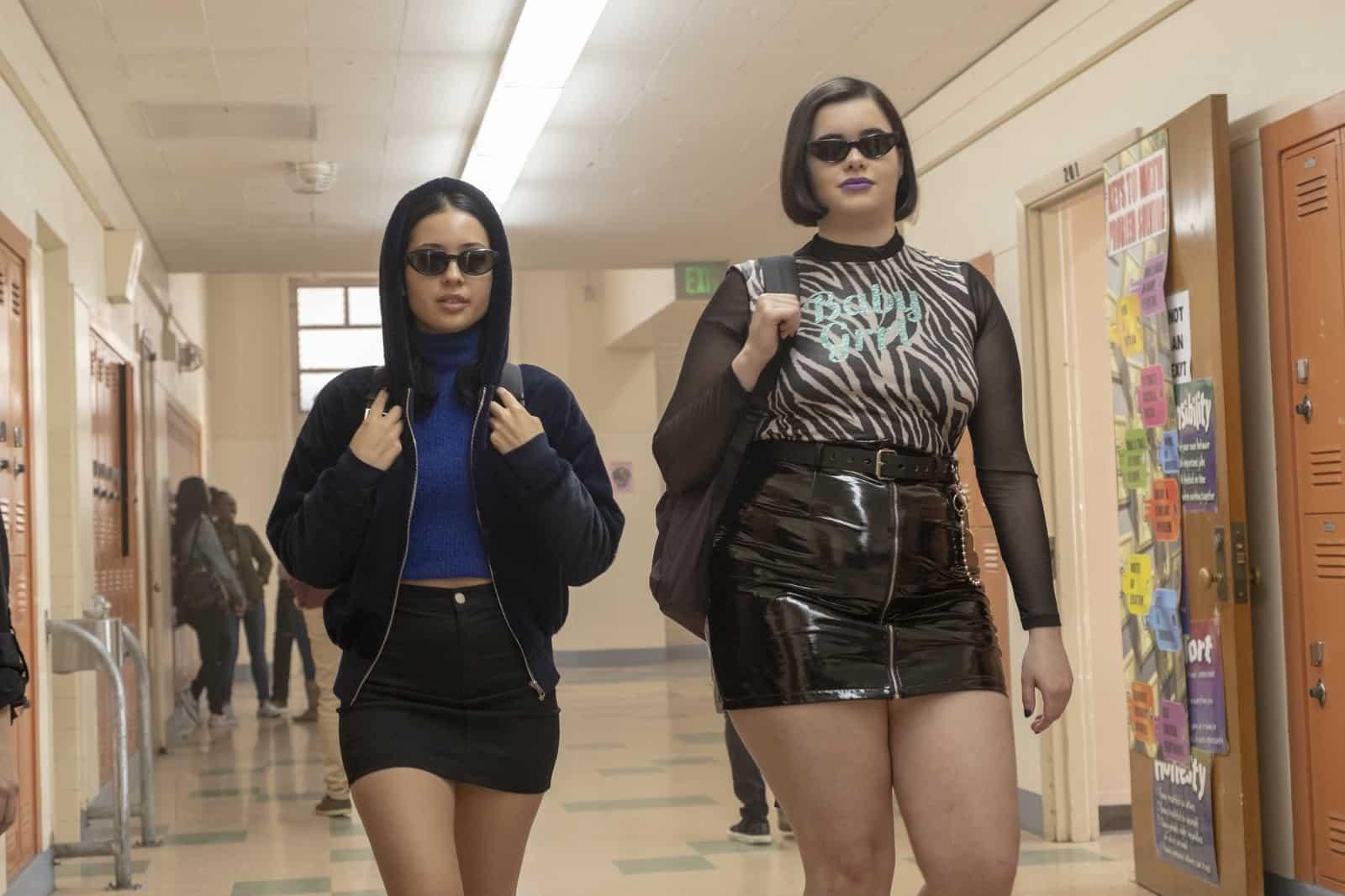 Maddy (Alexa Demie) y Kat (Barbie Ferreira) en Euphoria S01E05