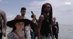 Judith y Michonne en la temporada 10 de The Walking Dead