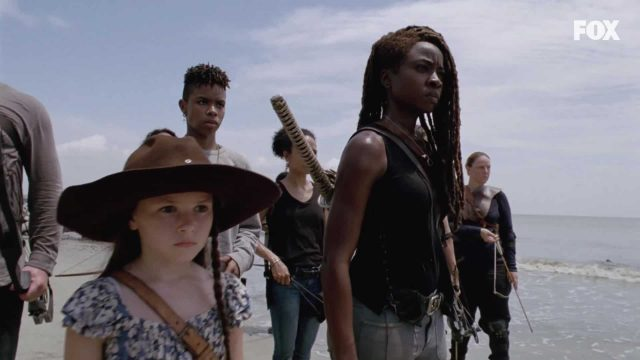 Judith y Michonne en la temporada 10 de The Walking Dead