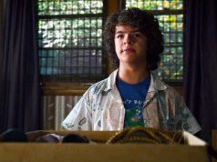 Dustin en el capítulo final de la tercera temporada de Stranger Things