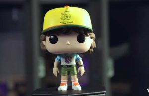 Figura Funko Pop! de Dustin en la tercera temporada de Stranger Things