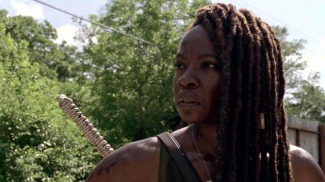 Michonne en The Walking Dead 10x03 Ghosts