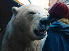 Lyra y el oso polar en His Dark Materials 1x04 Armour