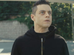 Rami Malek como Elliot Alderson en el final de Mr. Robot 4x12 + 4x13