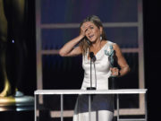 Jennifer Aniston es elegida mejor actriz en serie dramática en los SAG Awards 2020