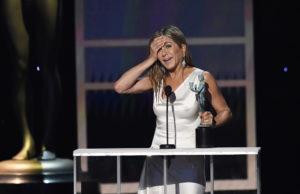 Jennifer Aniston es elegida mejor actriz en serie dramática en los SAG Awards 2020