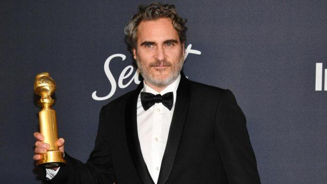 Joaquin Phoenix ganador del Golden Globe a Mejor actor de película por Joker
