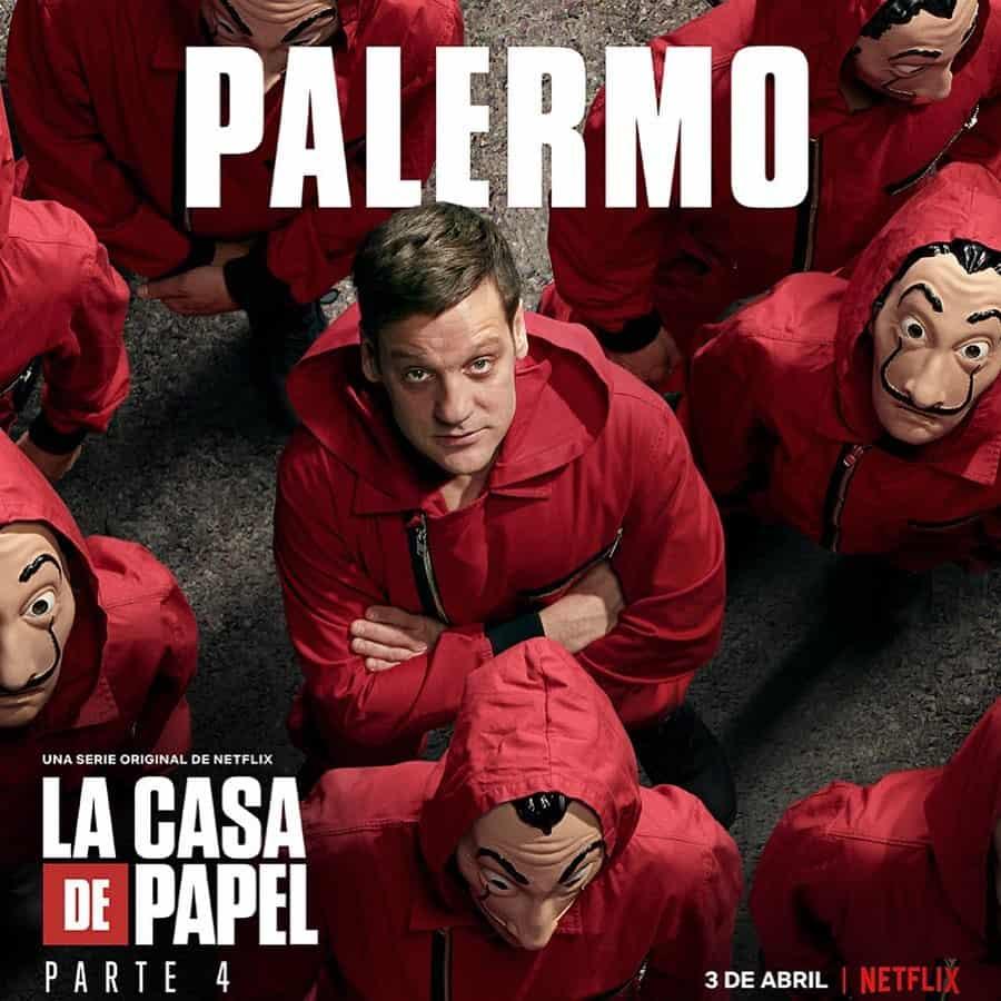 Rodrigo de la Serna (Palermo) en La Casa de Papel 4