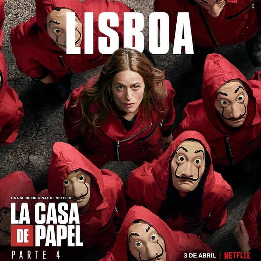 Itziar Ituño (Raquel Murillo/Lisboa) en La Casa de Papel 4