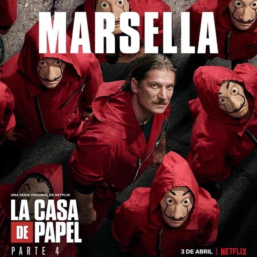 Luka Peroš (Marsella) en La Casa de Papel 4
