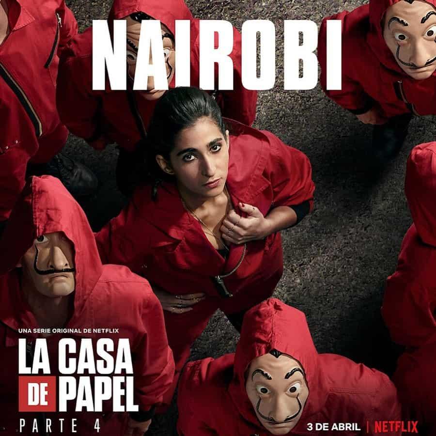 Alba Flores (Nairobi) en La Casa de Papel 4