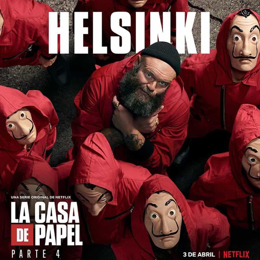 Darko Peric (Helsinki) en La Casa de Papel 4