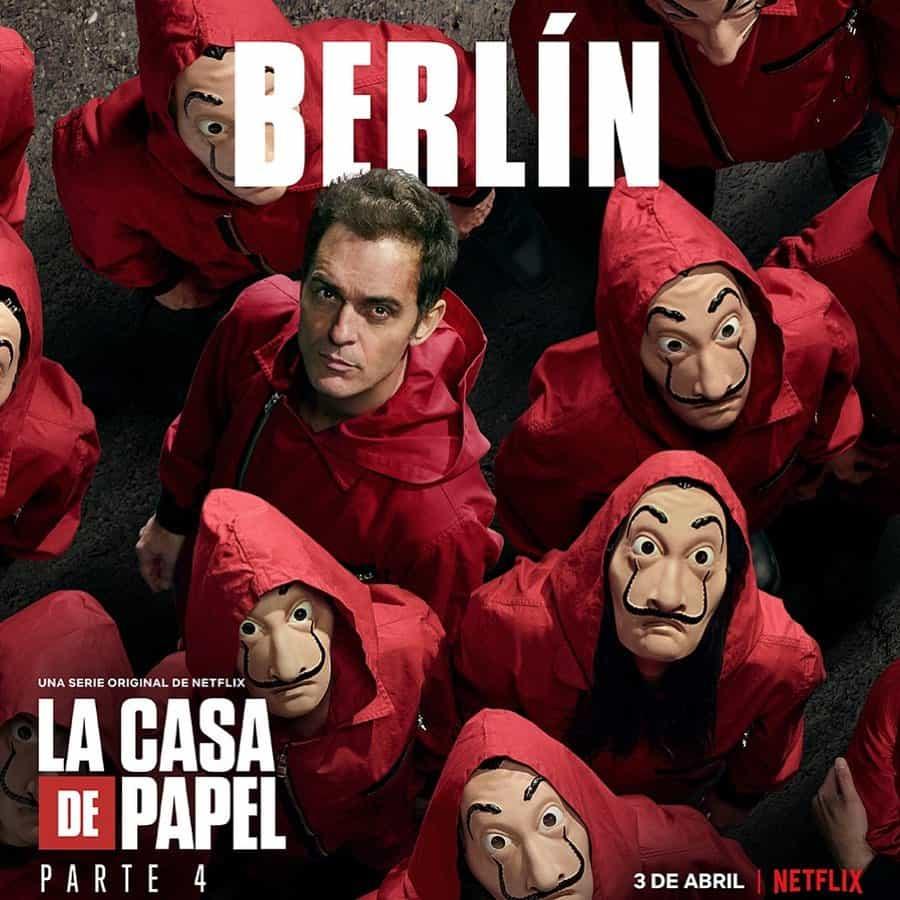 Pedro Alonso (Berlín) en La Casa de Papel 4