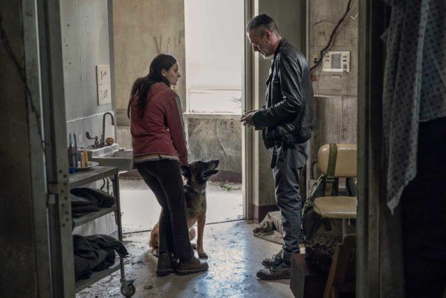 Spoiler - Lydia, Dog y Negan en The Walking Dead 10x15