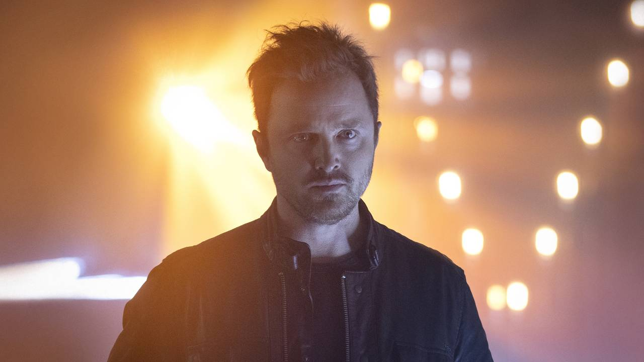 Aaron Paul en Westworld Temporada 3 Episodio 1