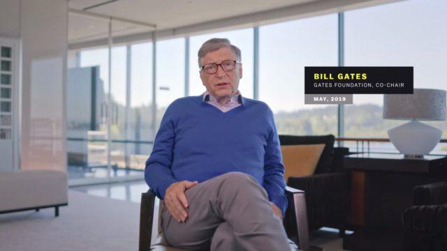 Bill Gates en Coronavirus, en pocas palabras (Netflix)