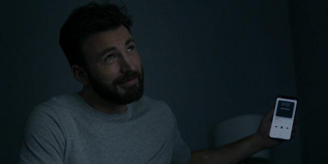 Chris Evans como Andy Barber en Defending Jacob (Apple TV+)