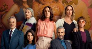 Afiche de la tercera temporada de La Casa de las Flores