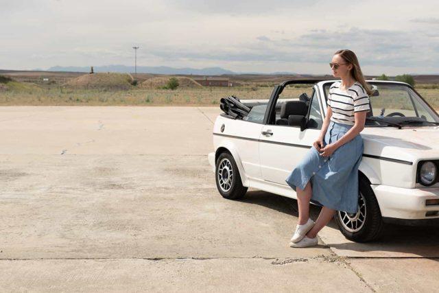Laura Haddock en White Lines (Netflix 2020)