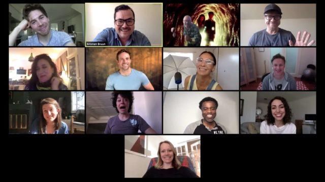 El equipo de Orphan Black se reencuentra por videollamada