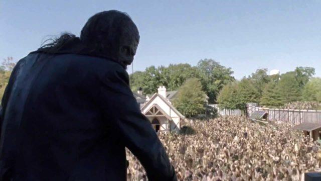 Spoiler - Beta y sus caminantes invaden Alexandria  en The Walking Dead S10E15
