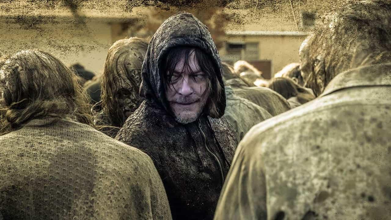 Daryl Dixon (Norman Reedus) en The Walking Dead 10x16 Season Finale