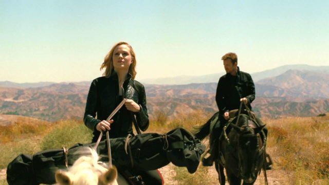 Dolores y Caleb en Westworld 3x06 Decoherence