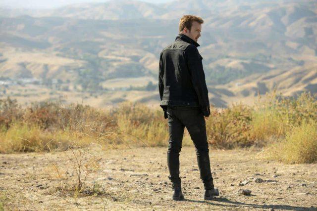Aaron Paul como Caleb en Westworld 3.07