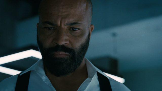 Jeffrey Wright como Bernard en Westworld 3.07
