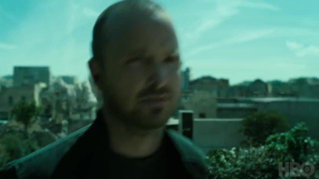 Caleb y una explosión en Westworld Temporada 3 Capitulo 7