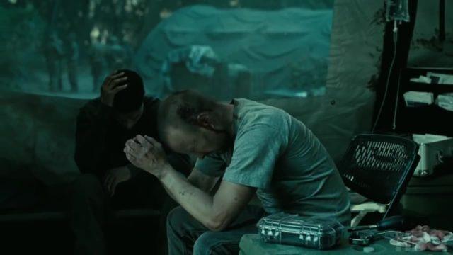 Caleb y su compañero Francis, cuando ambos formaban parte del ejército.