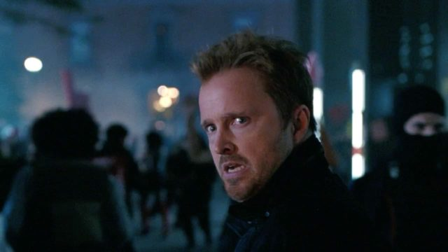 Caleb Nichols (Aaron Paul) en Westworld 3x08 (Season Finale)