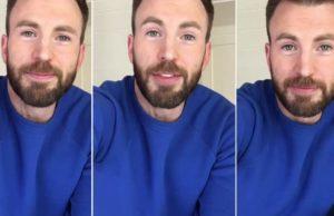 Chris Evans en Instagram